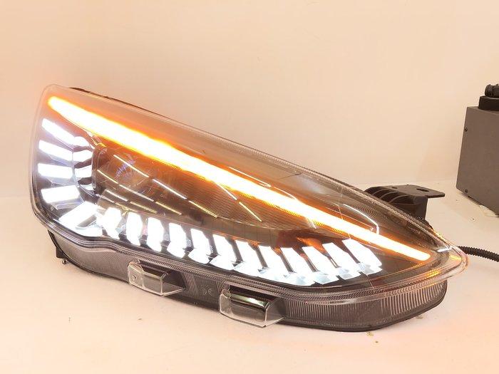 合豐源 車燈 FOCUS MK4 LED 日行燈 魚眼 大燈 頭燈 19 福克斯 H7 跑馬 方向燈 開機 自動 偵測