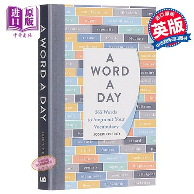 A Word a Day: 365 Words to Enhance Your Vocabulary 英文原版 英國地道