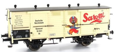 傑仲 博蘭 BRAWA 車廂 Freight Car DRG Ⅱ Sarotti 48658 HO