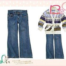 【B& G童裝】正品美國進口Crazy8藍色牛仔長褲12號9-10yrs