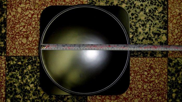 [福田工藝]台灣制造實木展示架、旋轉盤底座堅固耐用,非仿間之大陸貨可比11吋33cm