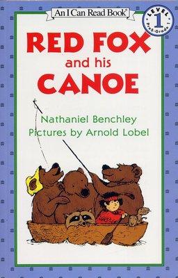 *小貝比的家*RED FOX AND HIS CANOE / L1/平裝書/3~6歲/汪培珽--第二階