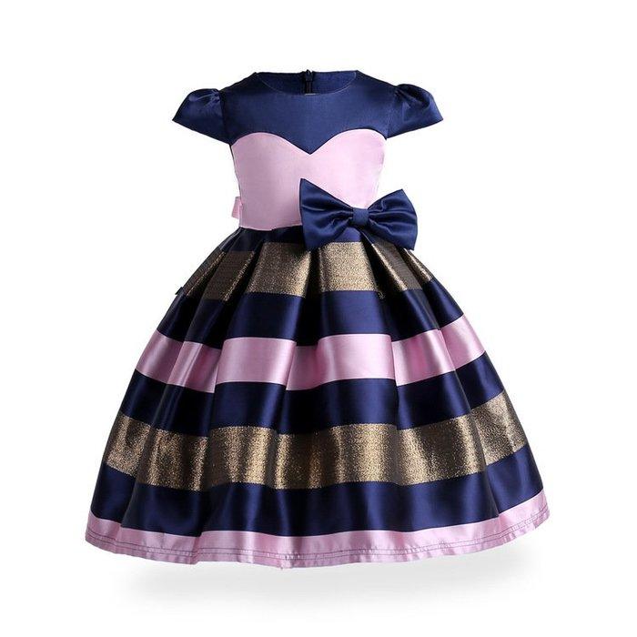 •*~ 辣媽咪衣飾小舖 ~*•❤童裝系列❤K950122韓版兒童夏款夢幻公主生日派對化妝舞會禮服洋裝