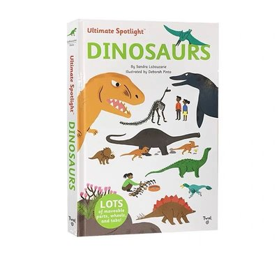 Twirl Ultimate Spotlight: Dinosaurs 恐龍 精裝立體翻翻書 恐龍知識 STEM啓蒙繪本 兒童趣味科普