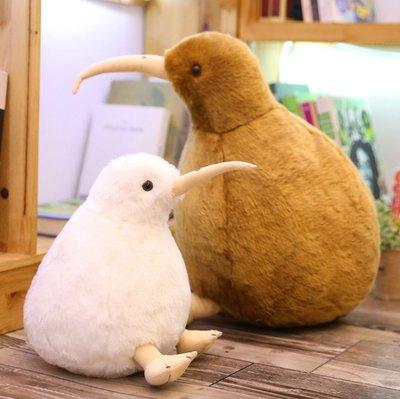 【陪伴系動物】超萌的奇異鳥娃娃 仿真鳥類 奇異鳥 Kiwi 公仔 餐廳 拍攝道具 店內擺飾 創意 生日禮物 20CM