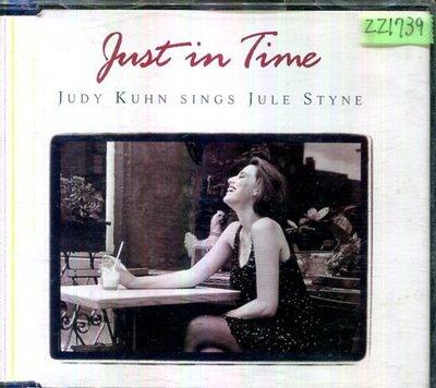 *還有唱片三館* JUDY KUHN / JUST IN TIME 二手 ZZ1739(需競標)