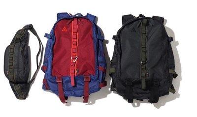 TSU 真品代購Nike  ACG Karst 29L後揹包 (黑色 / 藍紅)  CK7510-010