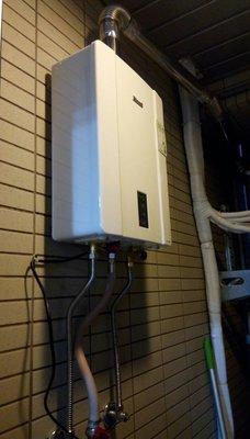 台北台中RUA-C1600WF林內家庭用即熱型數位恆溫強制排氣瓦斯熱水器即熱 RUAC1600WF關鍵字搜尋引擎16L