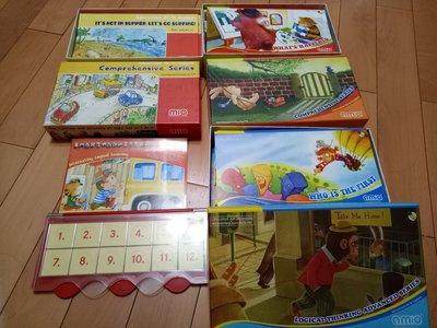 洛特國際AMIQ  德國益智邏輯思考教具 共40本 (點讀版) MIQ 12本+手冊+公車板( 近全新)
