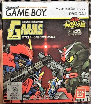 幸運小兔 GB遊戲 GB 對戰鋼彈 SD鋼彈 GARMS G 稀少品、無說明書 原廠日版 GB卡帶、GBA適用 C5