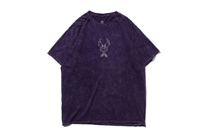[ LAB Taipei ] REMIX ' 20 S/S WING GUY TEE  [  石洗紫  ]