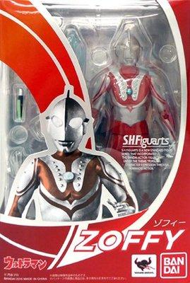 日本正版 萬代 S.H.Figuarts SHF 超人力霸王 佐菲 可動 模型 公仔 日本代購