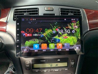 10.2吋觸控螢幕 導航 倒車 行車監控 藍牙 WiFi 數位電視 Android 安卓機!Lexus es300 es330