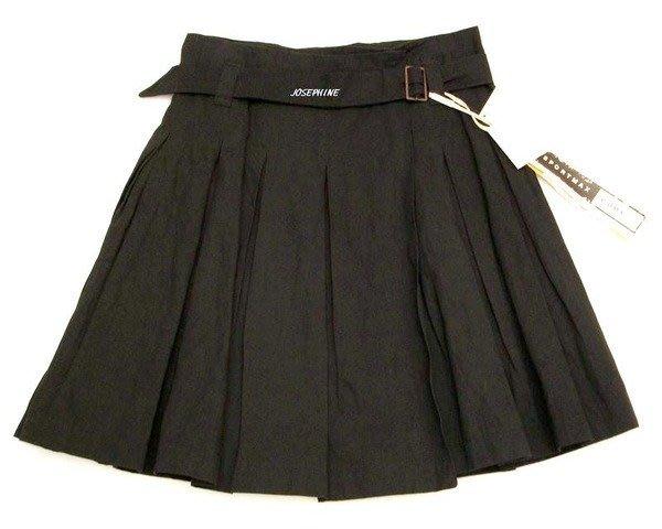 喬瑟芬【SPORTMAX CODE~MAXMARA】特價$7800~金屬黑打摺及膝裙~全新真品!過季清倉價!