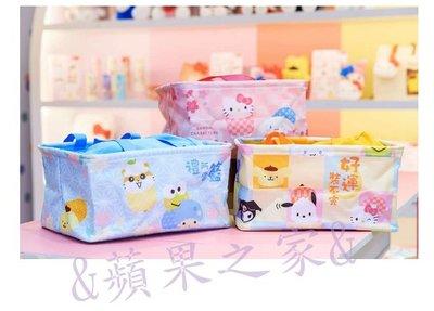 &蘋果之家&現貨 7-11 Sanrio Characters束口收納提籃