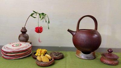 柴燒茶具--茶席分享