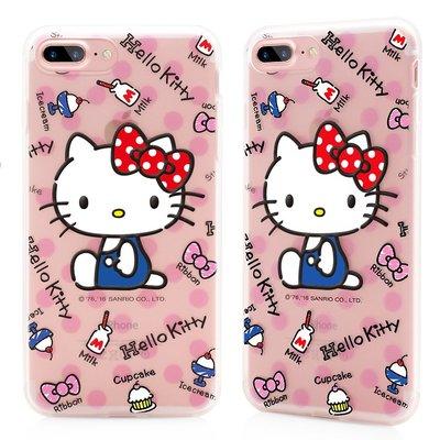 GARMMA Hello Kitty iPhone 7 4.7 iPhone7 Plus 軟式 手機殼 保護殼 野餐趣