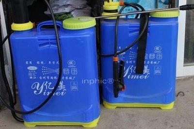 INPHIC-農用背負式手動氣壓式16L噴霧器噴藥器噴霧桶噴藥桶