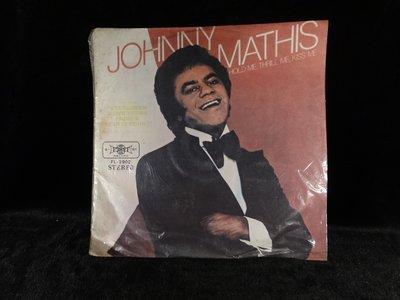 乖乖@賣場(LP黑膠唱片)12吋西洋黑膠Johnny Mathis   Hold Me, Thrill Me, Kiss