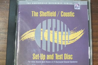 Sheffield Lab-Set-up and test disc-美版,有IFPI