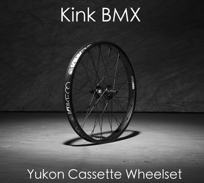 [Spun Shop] Kink BMX Yukon SDS Cassette Rear Wheelset卡式花鼓後輪組