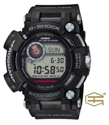 【天龜】CASIO G SHOCK  時尚潮流  蛙人錶強悍 運動錶    GWF-D1000-1