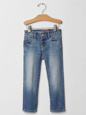 淇淇公主~美國Baby Gap ~可愛好搭淺藍Skinny Jeans 合身窄管牛仔褲 (現貨) - 3Y 4Y 5Y