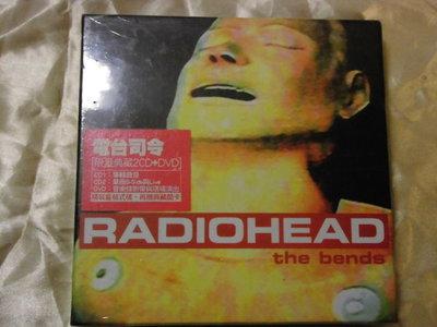 全新) Radiohead 電台司令 -- The Bends 2CD+DVD 精裝典藏版