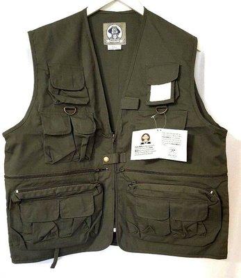 RothcUncle Milty Olive Drab Vest 軍裝 綠色 工裝多口袋背心