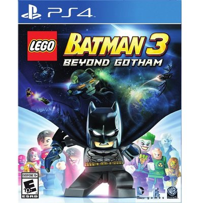 (現貨全新)  PS4 樂高蝙蝠俠 3:飛越高譚市 英文美版 附密碼表 LEGO Batman 3 Beyond
