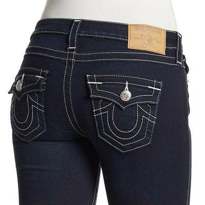 @51%OFF@TRUE RELIGION SUPER T 彌勒佛牛仔褲 Stella Super Skinny Fit