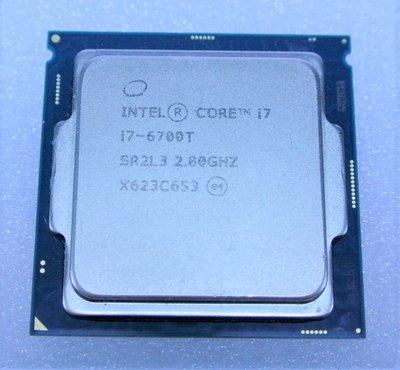 ~ 駿朋電腦 ~  Intel Core i7-6700T 2.80GHz 1151腳位 正式版 附銅心風扇 $6800