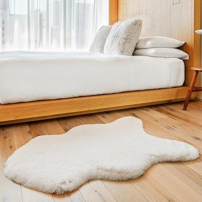 【小如的店】COSTCO好市多線上代購~Mon Chateau 仿毛皮地毯( 60 x 99 公分 )