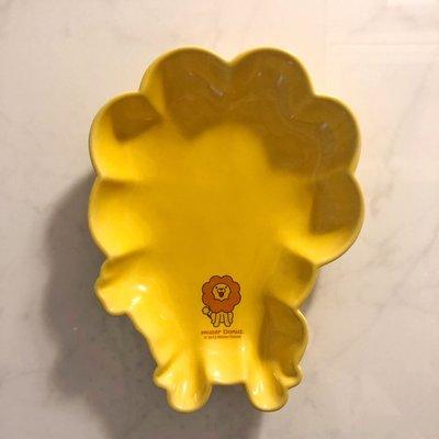 Mister Donut 波堤獅 造型瓷盤