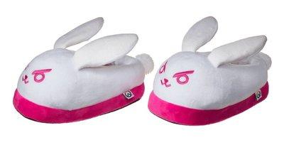 【丹】BZN_D.Va White/Pink Overwatch Bunny Slippers 鬥陣特攻 室內拖 拖鞋