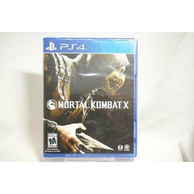 [耀西]全新 美版 SONY PS4 真人快打 X MORTAL KOMBAT X 含稅附發票