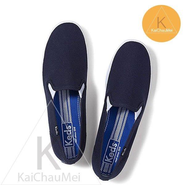 凱喬美│Taylor Swift for Keds 泰勒斯 大尺寸 無印 森林 素色 海軍 深藍 懶人 帆布鞋 散步
