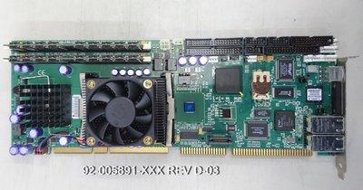 行家馬克 工控卡 工業電腦工控長卡 92-005891-XXX REV D-03 工控板  買賣專業維修