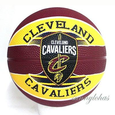 預購【SPALDING 斯伯丁】 NBA籃球 Jr 兒童3號球 Cavaliers 騎士隊徽 SPA83603 [迦勒]