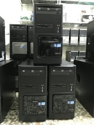 二手電腦 I3 2100 ASUS 華碩 四核主機 4G  四核心電腦 中古電腦  線上看電影 含正版W7