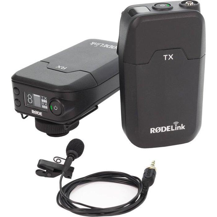 【數位小品】RODE RODELink 無線麥克風系統 Filmmaker Kit(RDRODELINKFM)