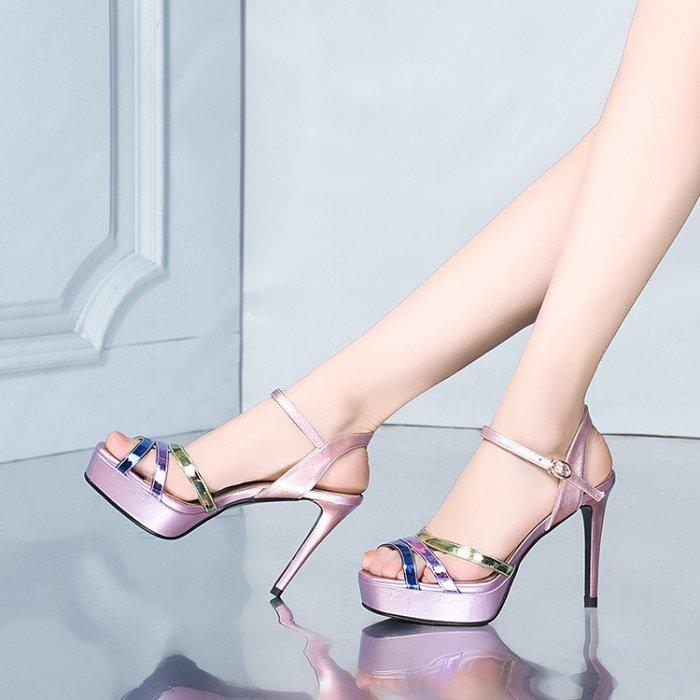 真皮女鞋 涼鞋 高跟鞋 HKA 025