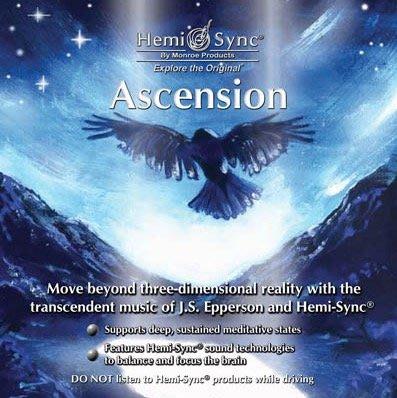 [心靈之音] 揚昇 Ascension-美國孟羅Hemi-Sync雙腦同步CD進口原裝新品