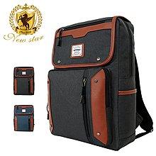 時尚拼接後背包包 筆電包 NEW STAR BK272