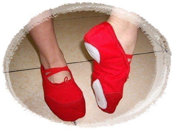 ☆∴八達商行 水噹噹【兩點鞋】韻律鞋/有氧鞋 芭蕾 體操 瑜珈 肚皮舞蹈鞋15公分-26公分$70元