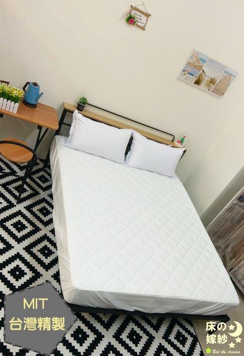 Q床の嫁紗Q 台灣製[MIT] 防塵防螨玫瑰印花 / 單人床包式保潔墊
