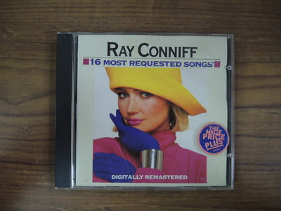 ◎MWM◎【二手CD】Bay Conniff:16 Most Requested Songs 無ifpi,介紹紙受潮黏著