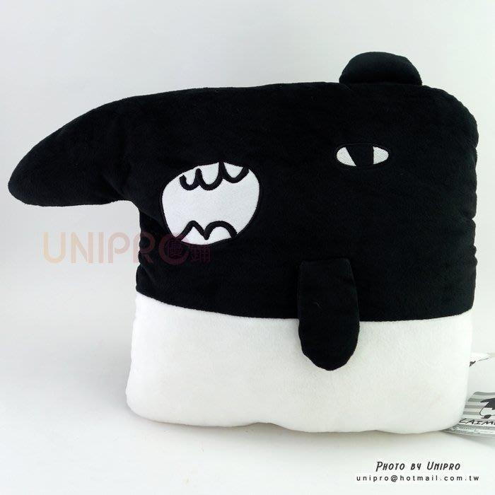 【UNIPRO】馬來貘 LAIMO 方形暖手枕 大叫來貘 絨毛玩偶 娃娃 抱枕 靠枕 午安枕 Cherng