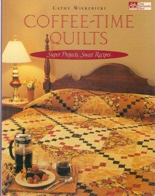 【傑美屋-縫紉之家】美國拼布書籍#COFFEE TIME QUILTS拼布咖啡時間#644