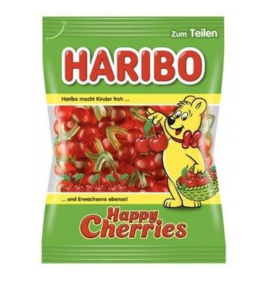 德國原裝Haribo Cherries快樂櫻桃軟糖 200g